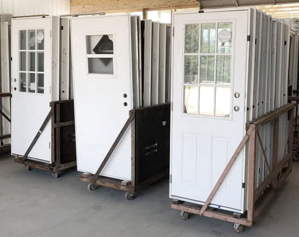 exterior doors for mobile homes and manufactured homes