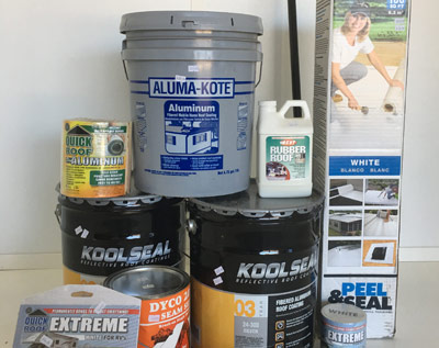 roofing supplies and roof repair kits